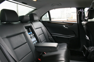 Luxurious Leather Seating, Black