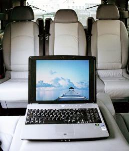 Mercedes Viano Laptop Anschluss